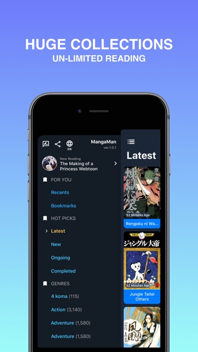 Screen Shot Manga Man - Read manga online 1