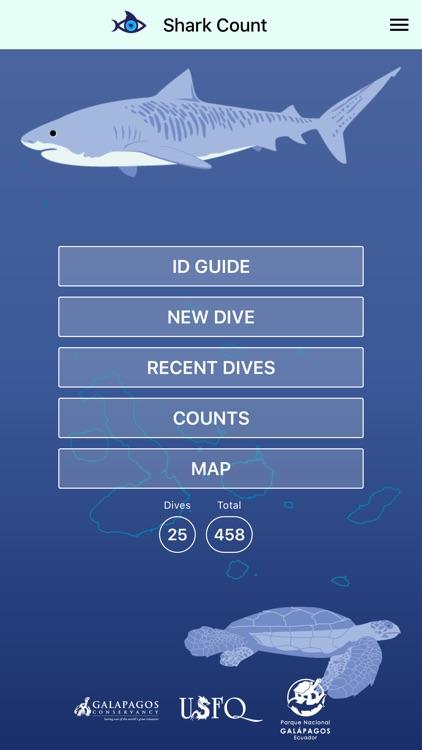 Shark Count Galapagos