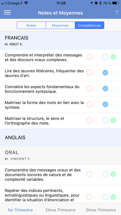 messages.download Mon EcoleDirecte software