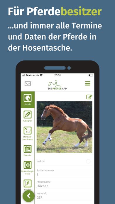 Die Pferde AppScreenshot von 2