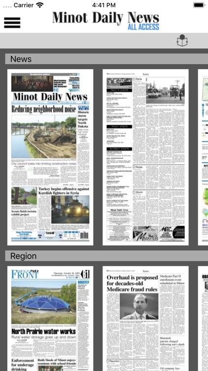 Minot Daily News All Access screenshot-4