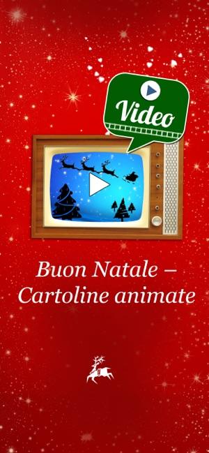 Buon Natale 1a.Buon Natale Cartoline Animate Su App Store