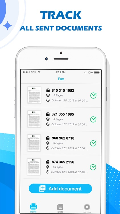 Fax - Simple Mobile Fax screenshot-3