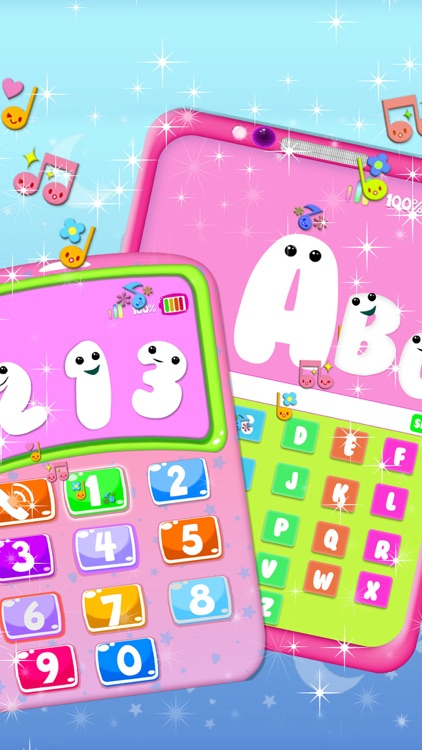 Pink Phone Learning Games screenshot-3