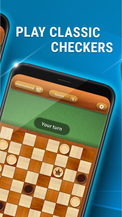 Checkers - Best Draughts Game screenshot 1