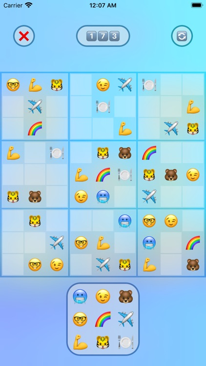 Jan's Emoji Sudoku screenshot-2