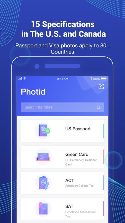 Photid-AI Passport Photo Booth screenshot-3