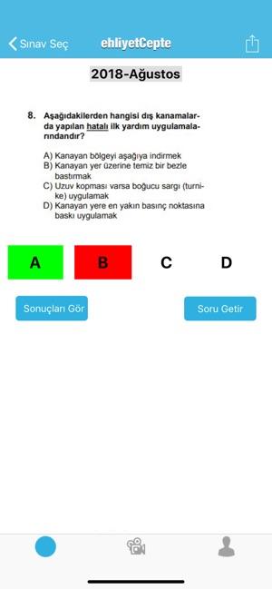 Ehliyet Sınav Sorulari 2019 App Storeda