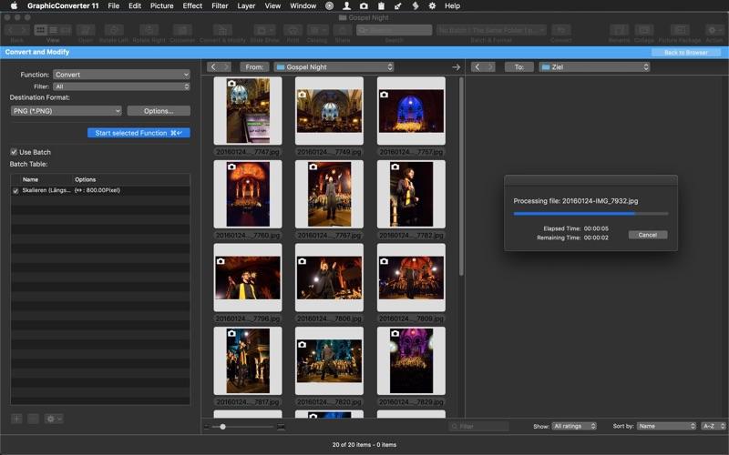 GraphicConverter 11 Screenshots