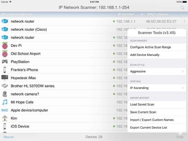 IP Network Scanner Lite on the App Store