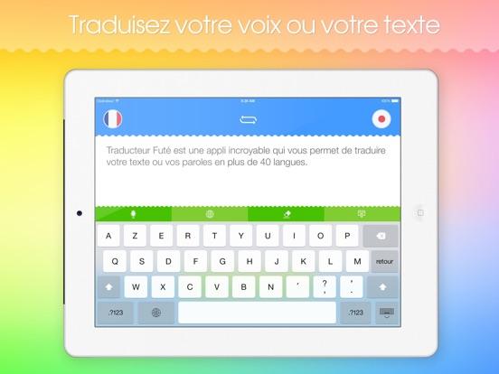 Screenshot #4 pour Traducteur Futé HD!