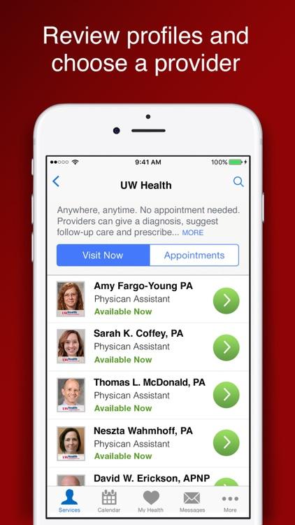 UW Health Care Anywhere