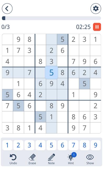 Sudoku: Brain Puzzle Game screenshot 1
