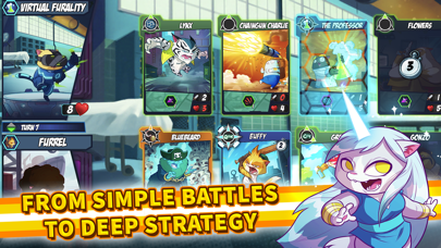 Tap Cats: Epic Card Battle CCG screenshot 1