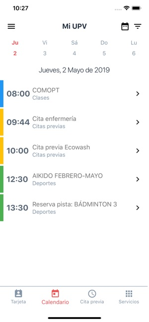 Calendario Etsa Upv.Upv Miupv En App Store