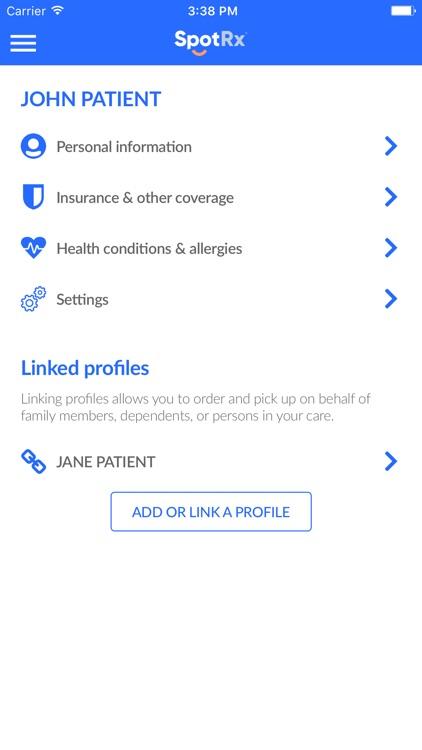 SpotRx Pharmacy Canada screenshot-8