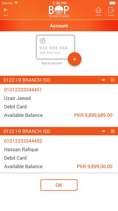 BOP Mobile screenshot four