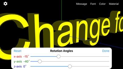 Banner 3D - scrolling text app screenshot 4
