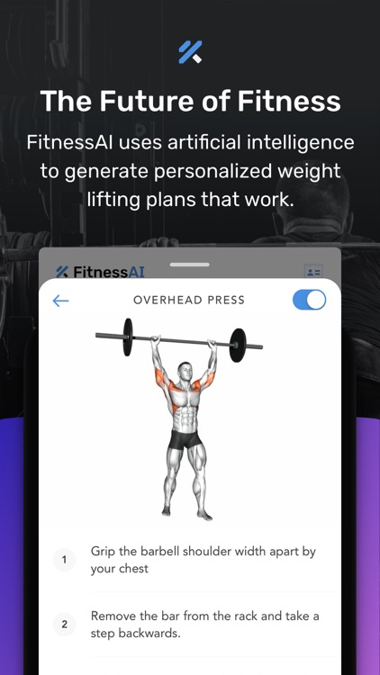 Weight Lifting by FitnessAI