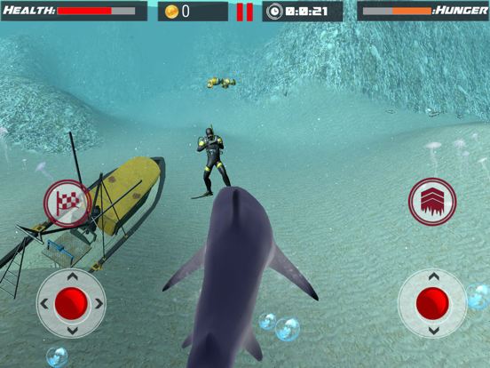 White Shark Sim : Great Attack-ipad-2