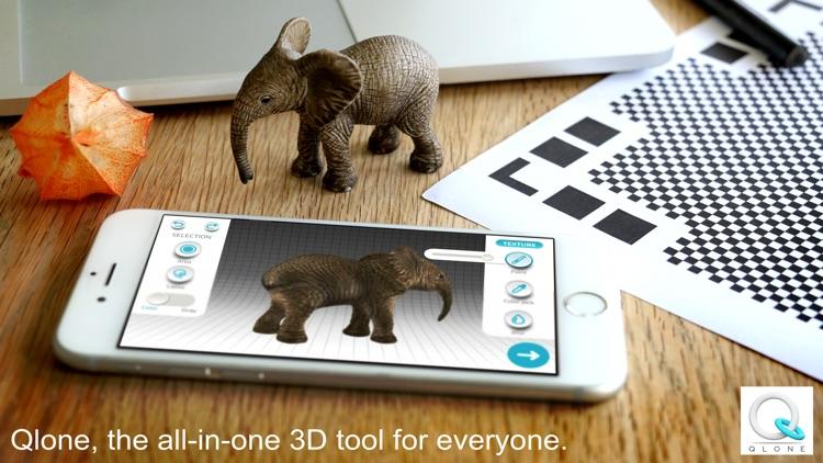 Qlone - 3D Scanning Solution screenshot-0