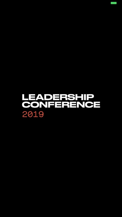 LC19 - Leadership Conference screenshot one