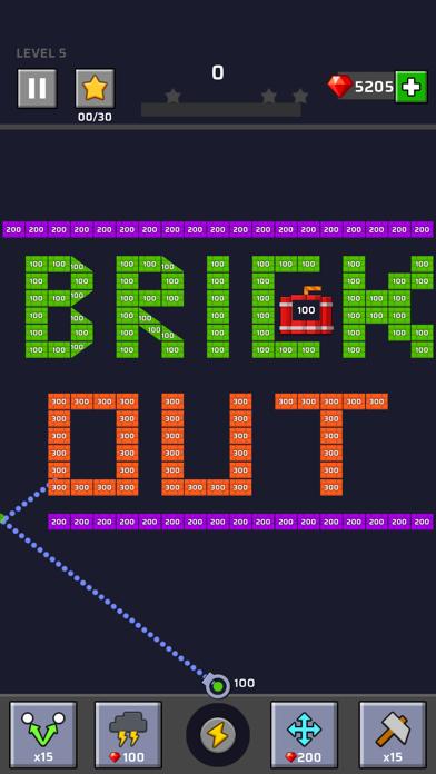 Brick Out - Shoot the ball screenshot 1