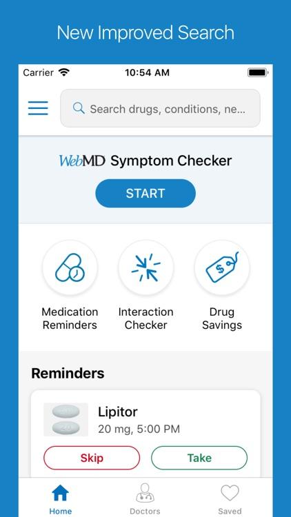 WebMD: Symptoms, Doctors, & Rx