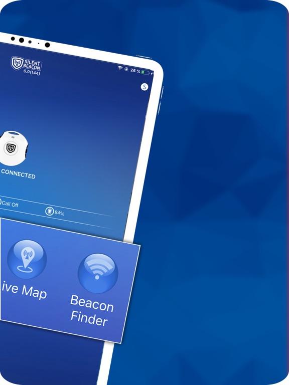 Silent Beacon - Emergency alert system, alert loved ones instantly in an emergency. screenshot