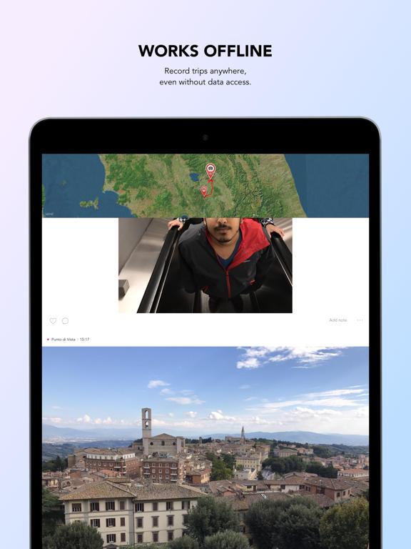 Esplorio - Your automatic travel journal screenshot