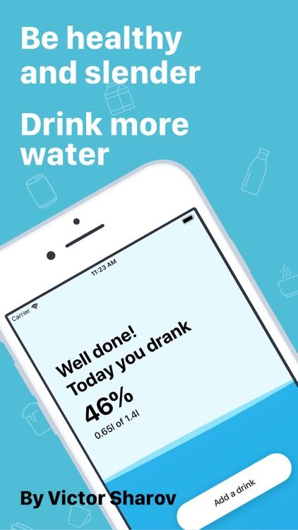 My Water & Drink Reminder screenshot-0