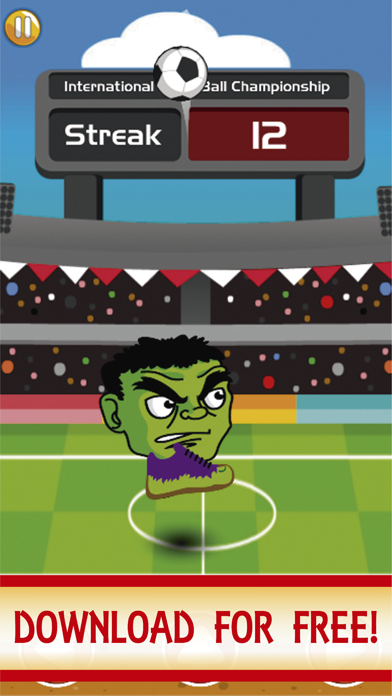 SuperHeroes Head Ball : Hero screenshot 2