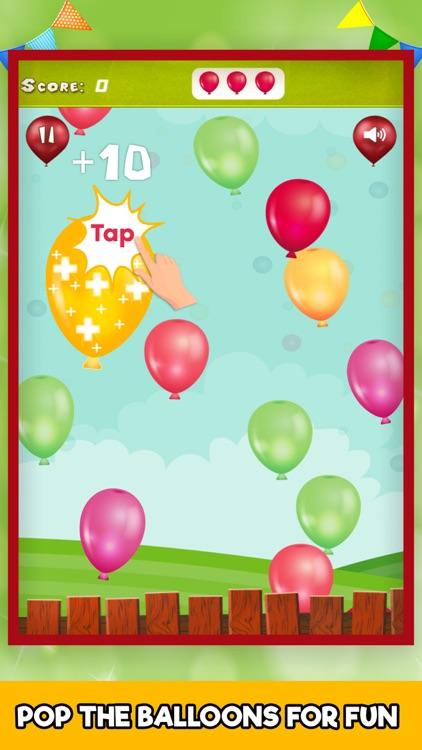 Baby Balloon Pop Kids Popping
