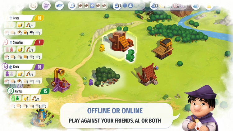 Charterstone: Digital Edition screenshot-6