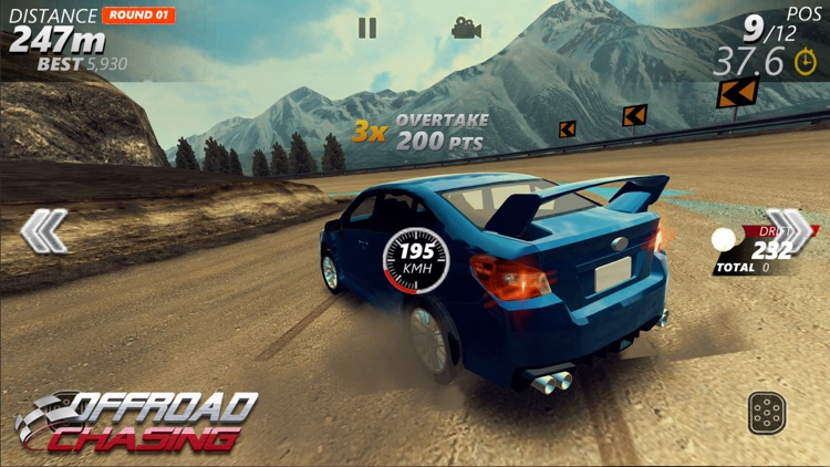 Offroad Chasing -Drifting Game screenshot-1