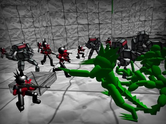 Battle Sim: Stickman Zombie screenshot 7