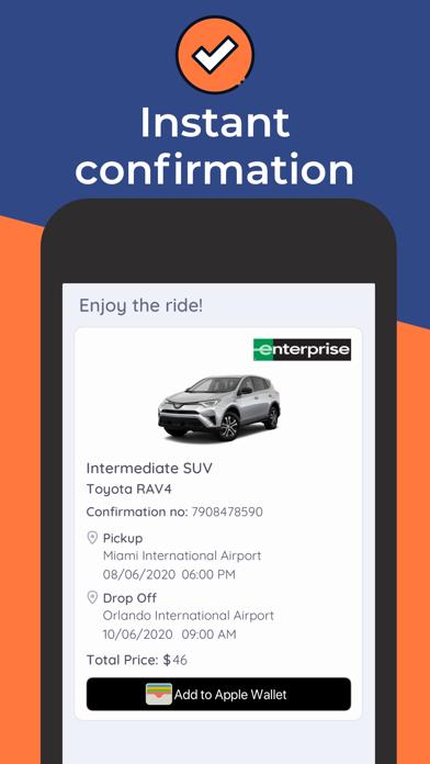 Carla - Rent a car by comparing car rental companies screenshot
