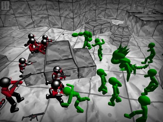 Battle Sim: Stickman Zombie screenshot 9