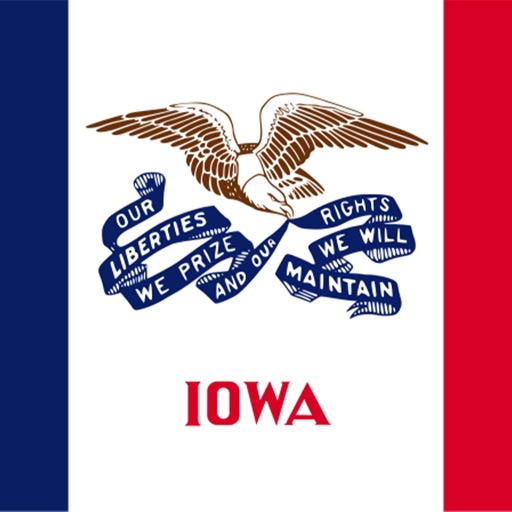 Iowa emojis - USA stickers icon