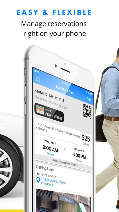 messages.download SpotHero: #1 Rated Parking App software