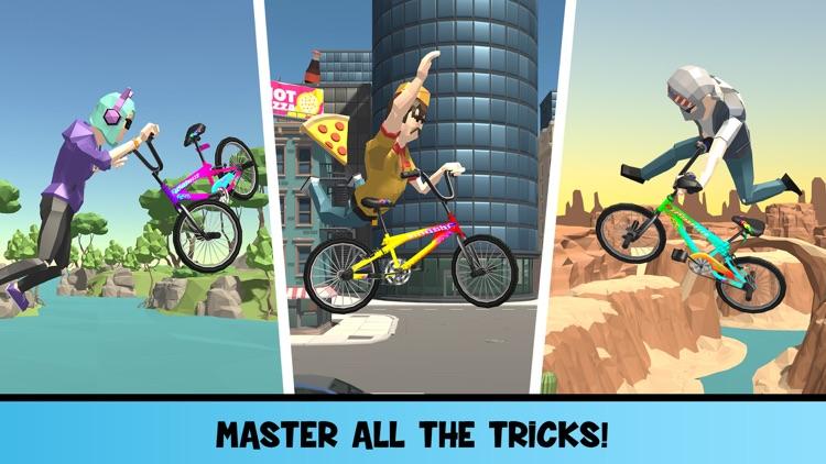BMX Boss Flip screenshot-3