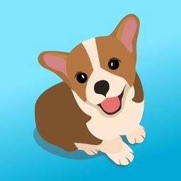 Cute Corgi Puppy Stickers