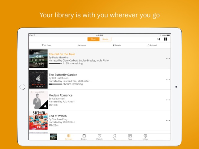 Audible audiobooks & originals on the App Store