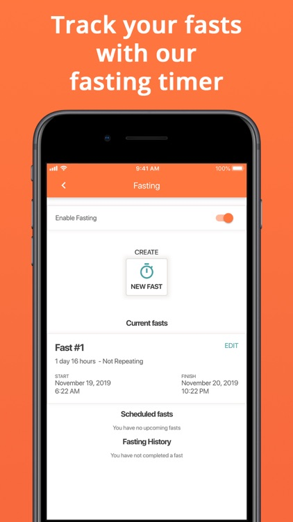 Cron-o-Meter Nutrition Tracker screenshot-6
