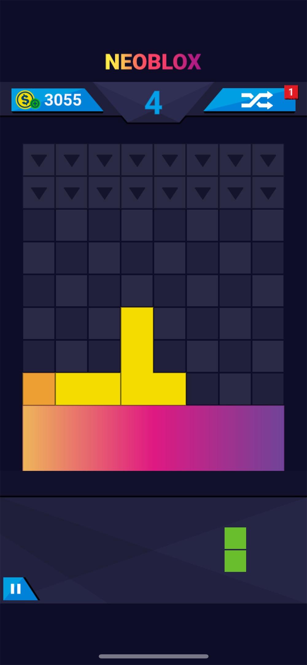 Neoblox: Colorful Block Puzzle Cheat Codes