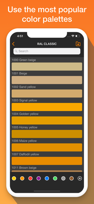 ‎RAL colors. Home paint tester Screenshot