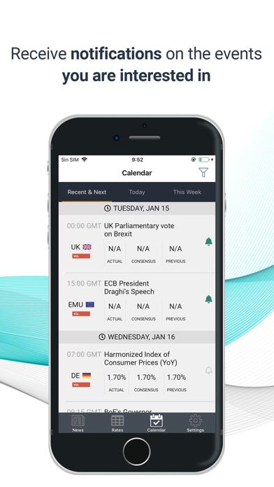 FXStreet Forex News & Calendar Screenshot