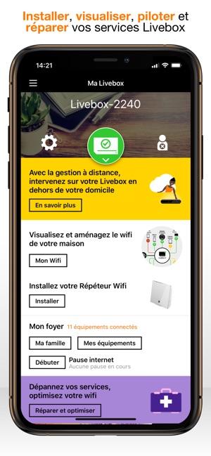 pirater une livebox avec un iphone