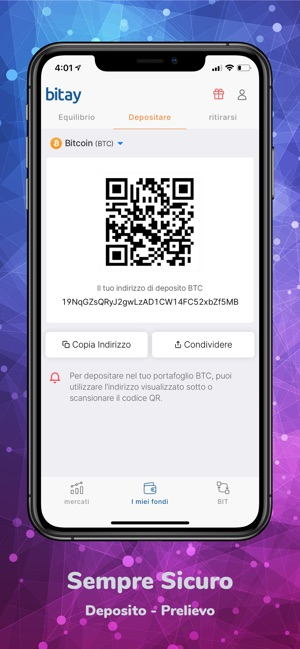 equilibrio indirizzo bitcoin