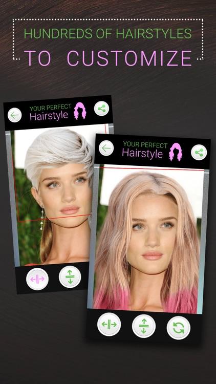 Perfect Hairstyle Women PRO screenshot-6